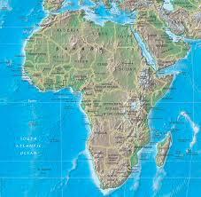 Africa Mappa Geografia Caratteristiche Fisiche Flora Fauna Africana