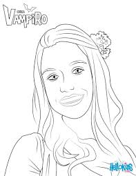 Marilyn Coloring Page From Chica Vampiro More Chica Vampiro Content