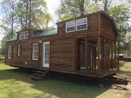 tiny house log cabin. Best Tiny House Rv 10×38 Portable Log Cabin