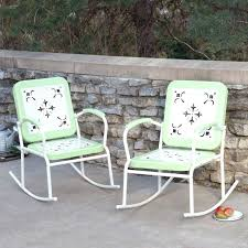 metal patio rocking chairs metal outdoor rocking chairs inspirations home interior design
