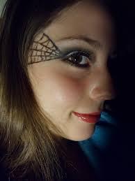 luhivys favorite things halloween makeup spider web
