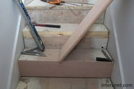installing wood stairs. Fine Wood Stairtreadinstallation To Installing Wood Stairs