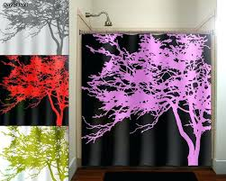 pink and black bathroom decorating ideas splendid pink and black curtains decorating with pink tree black