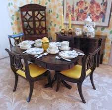 dollhouse dining room furniture. Details About Ideal DINING ROOM SET W/ DISHES Vintage Dollhouse Furniture Renwal Plastic 1:16 Dining Room :