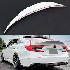 2018 Honda Accord Brake Lights Cuztom Tuning Fits For 2018 2020 Honda Accord Jdm Mcx Highkick Duckbill Trunk Lid Spoiler Painted Platinum White Pearl Finish