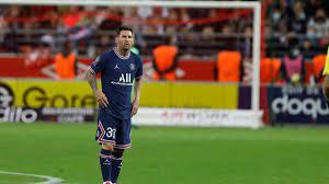 Lionel Messi bei Paris Saint-Germain ...