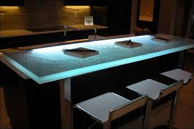 Kitchen  Recycled Glass Countertops Cost Vs Granite Glass Concrete Countertops Cost Vs Granite