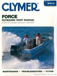 1984 1999 force 4 150 hp outboard boat engine repair manual Trailer Wiring Harness at 1999 Force 120 Wiring Harness