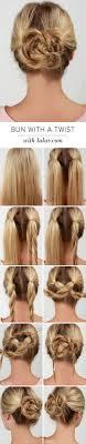 Different Bun Hairstyles 25 Best Ideas About Easy Bun Hairstyles On Pinterest Hair Buns