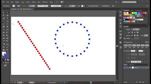 Below the layer dots create a new layer called bg. create a rectangle with a black fill without stroke. How To Make Dotted Lines In Adobe Illustrator Youtube