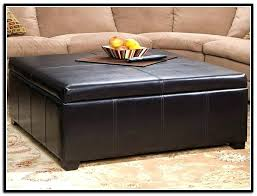 square leather ottoman coffee table better homes gardens ideas brown leather storage ottoman tray home design idea square leather ottoman coffee table dorel