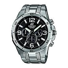 casio watches edifice g shock solar digital h samuel casio edifice men s stainless steel chronograph watch product number 2302225