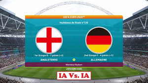 Angleterre - Allemagne [PES 2021] | UEFA Euro 2020 (Huitièmes de finale  n°7/8)