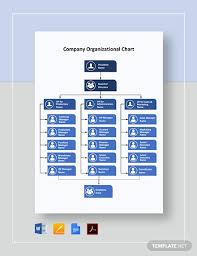 Company Organizational Chart Template Word Google Docs