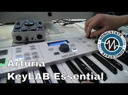 Купить <b>Arturia KeyLab Essential</b> 61 миди <b>клавиатуру</b>, 61 клавиша ...