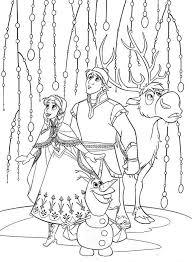 Small Picture 27 best Kleuren Disney Movie FROZEN images on Pinterest Adult