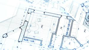 Architectural Blue Print Architectural Blueprint Drawings Of The