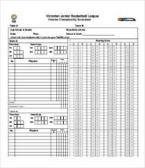 Basketball Score Sheets Basketball Score Sheet 12 Free Pdf Documents Download