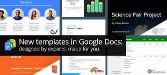 New Professionally Designed Templates For Docs Sheets Slides