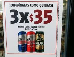 Six Tecate Light Oxxo Oxxo 3 Latones De Cerveza 473ml Promodescuentos Com
