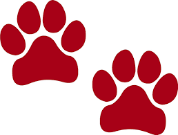 red dog paw clipart. Fine Paw Amazoncom Paw Prints BLACK I Make DecalsPawprints Paws Dog Puppy  Pup Mutt Canine Print Car Auto Wall Locker Laptop Ipad Notebook  On Red Dog Clipart O