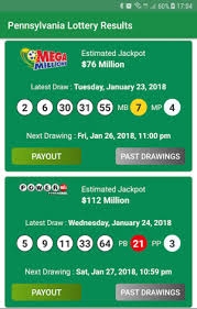 Pennsylvania Lottery Results Android Applications Appagg