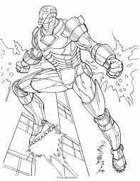 Small Picture Iron man Coloring Pages