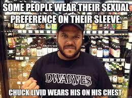 Chuck Livid memes | quickmeme via Relatably.com