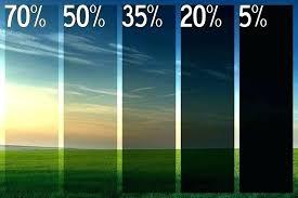 Window Tint Shades Chart Colored Window Tint Film Dcmusic Co