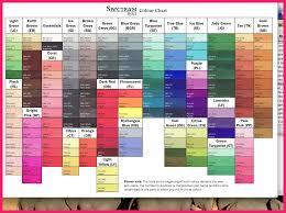 Spectrum Noir Color Chart Bio Letter Format