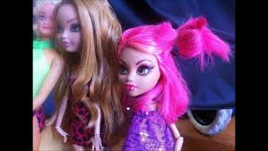 monster high stories howleen deals with r pressure video dailymotion
