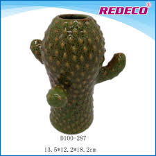 Small Picture Cactus Design Home Decor VasesCeramic Vases Wholesale Buy Home