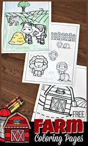 Free Farm Coloring Pages 123 Homeschool 4 Me