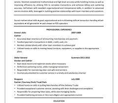 Stocker Job Description For Resume Mcdonalds Cashier Job Description For Resume Target Head Kmart 86