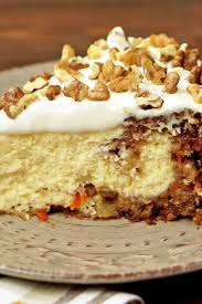 Copycat Cheesecake Factory Carrot Cake Cheesecake Kitchme