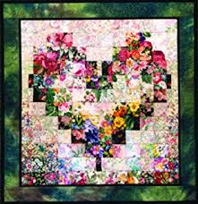 Amazon.com: Whims Watercolor Quilt Kits Dragonflies and Lilypads ... & Whims Watercolor Quilt Kits Heart In Bloom Quilting Supplies Adamdwight.com