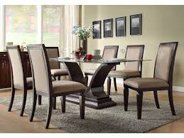 dining room fascinating dark wood dining room set contemporary dining room sets glass dining table