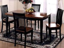 Kitchen Tables Black Kitchen Table Counter Height Dining Tables Black Black
