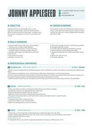Writting A Modern Resume 7 Best Good Resume Examples Images Cv Template Best Resume Free