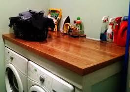 diy laundry room countertop 8