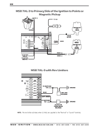 msd ignition wiring diagrams msd 7al 3 to primary side of ignition to points or magnetic pickup