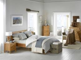 Bedroom:Adorable Scandinavian Bedroom Furniture Design With Wicker Chairs  And Wooden Master Bed Side Table