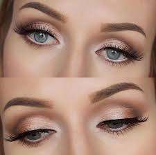 659 in 32 best wedding makeup for blue eyes blonde hair