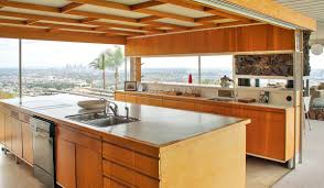 House Kitchen Tour An Icon The Stahl House Kitchen Decorating Idea