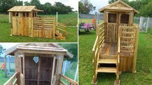 Casette Per Bambini Fai Da Te : Idee per costruire una casa in pallet di legno bcasa
