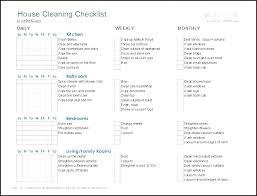 Clean House Checklist Benhduonghohap Info