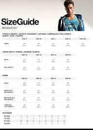 Mens Shirt Size Chart Us To Uk Coolmine Community School