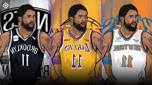 Sport Kyrie Irving Free Agency Fits Can Lakers Knicks