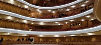 View Of The Seating Picture Of Segerstrom Center For The