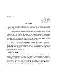 Informal Essays Examples Rome Fontanacountryinn Com